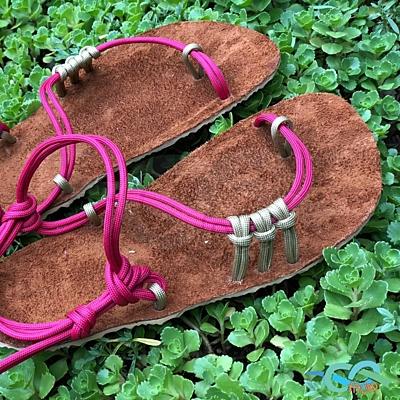 Polep kůží na sandály